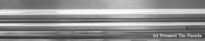 Pressed Metal Border - Double Swage