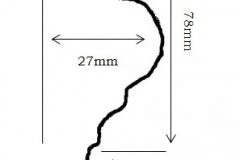 Large Plain Border (Under/Under)