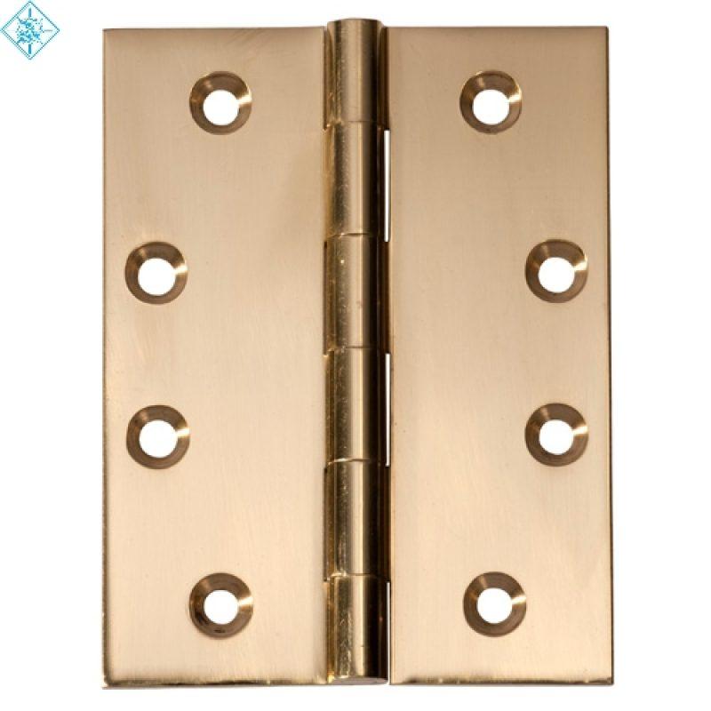 Hinge : Fixed Pin - Brass (4 Sizes) - T 2470 / 2472 / 2473 / 2474